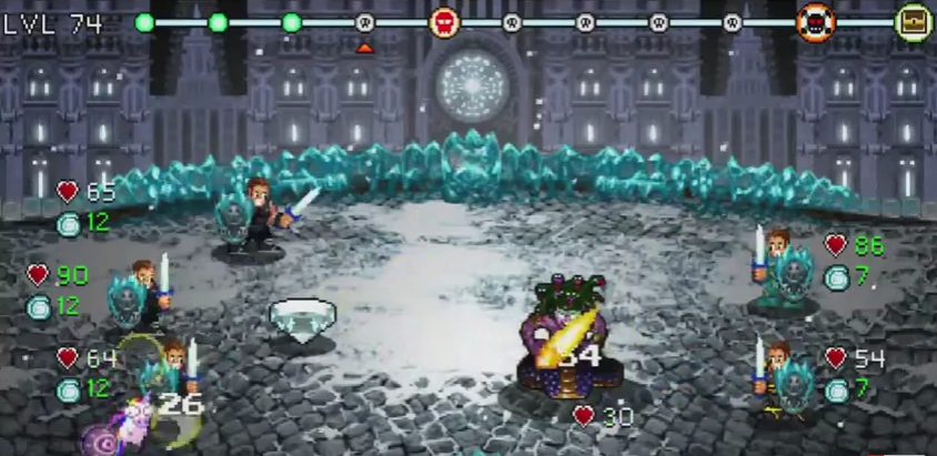 Top Android free RPG offline games - Soda Dungeon