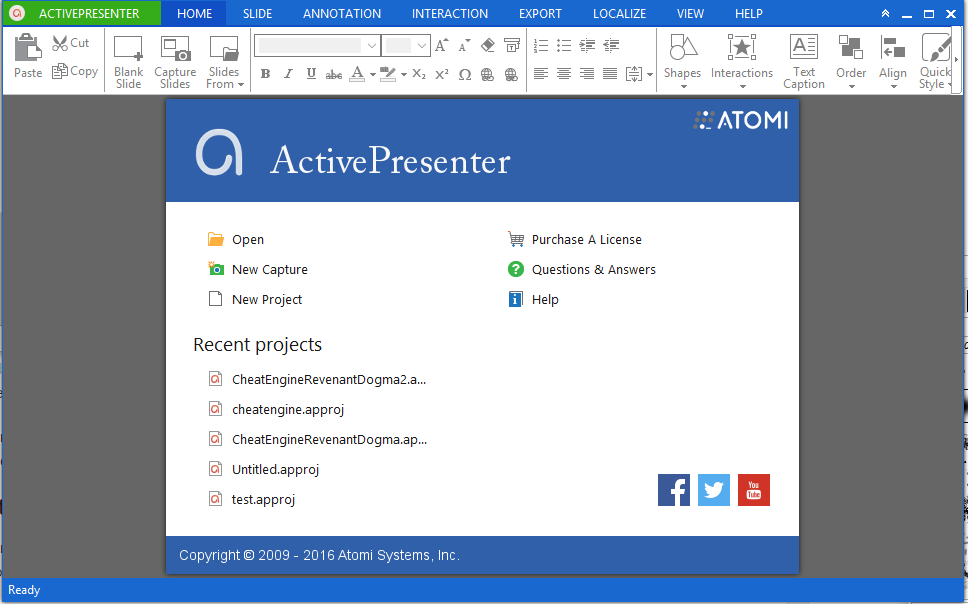 Come registrare lo schermo del PC - Active Presenter