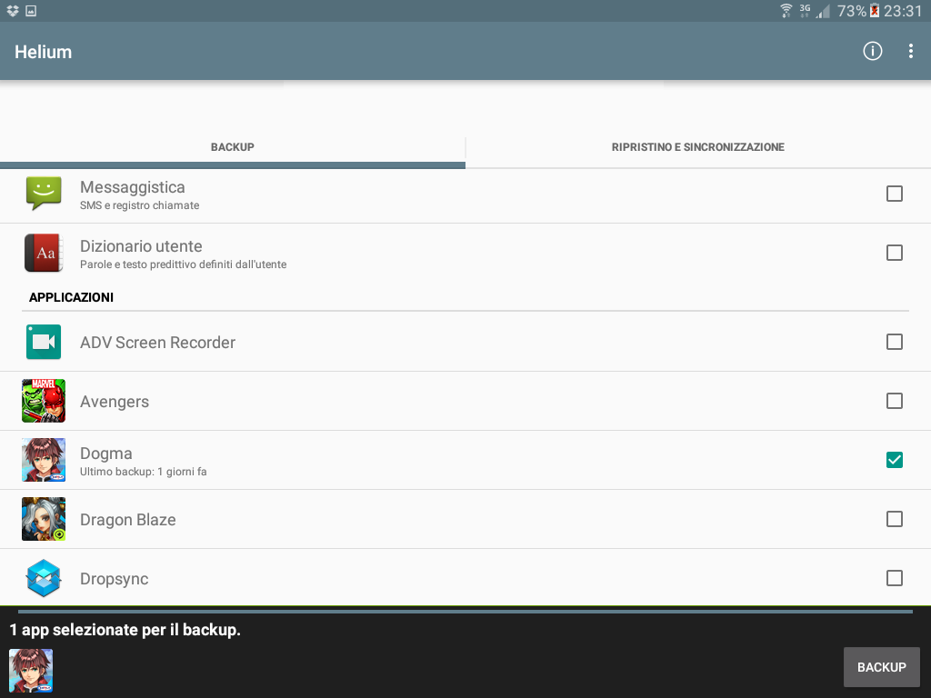 Backup app data Android figure 3