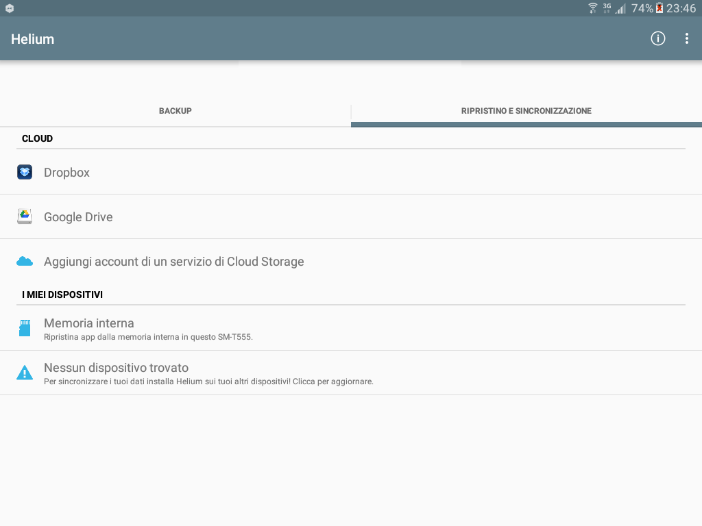 Backup app data Android figura 5