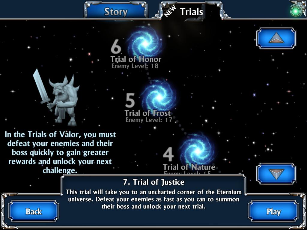 Eternium - Mage and Minions trials