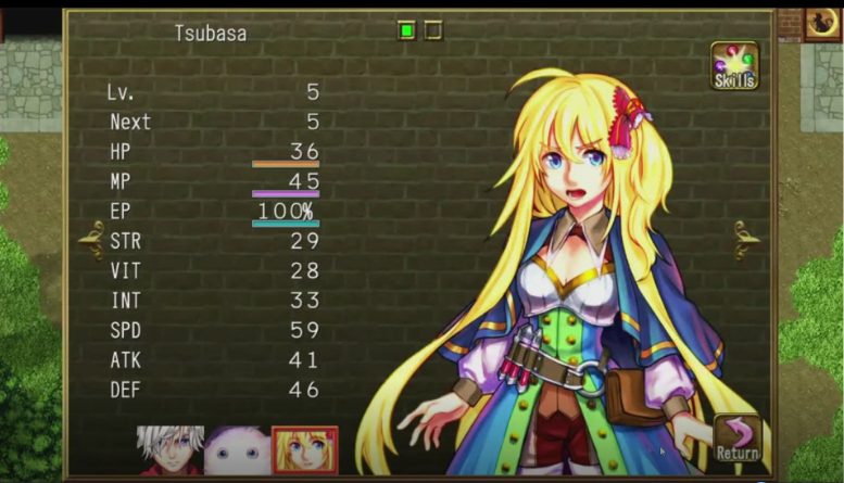 Top Android free RPG offline games - Fairy Elements personaggi manga