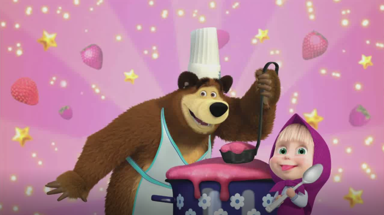 Masha and Bear free cooking game
