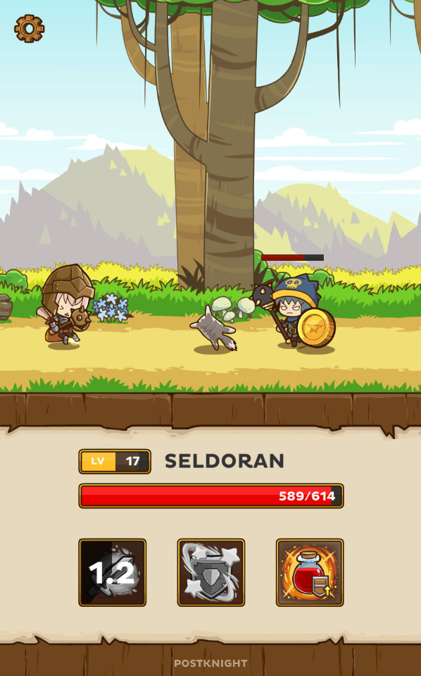 Free offline games for Android - Postknight