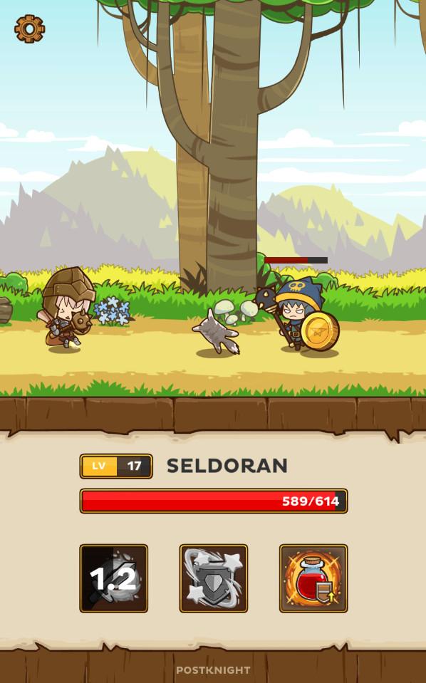 giochi gratuiti offline per Android - Postknight