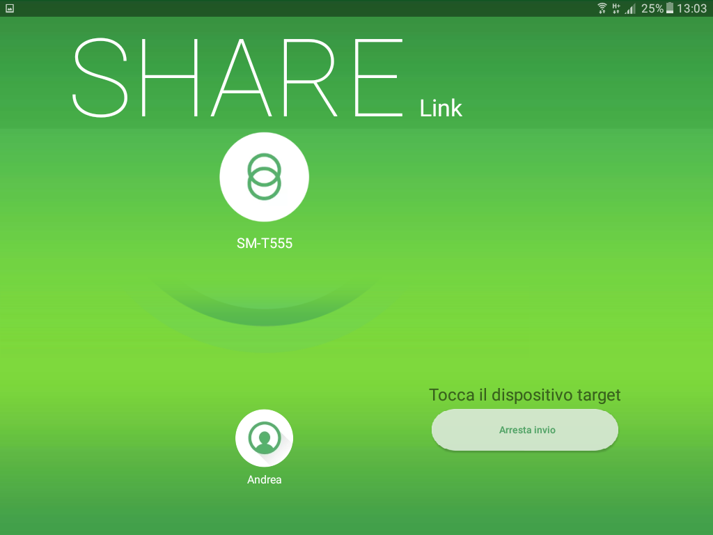 Share Link Android File Copy