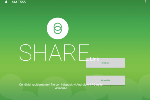 Share Link – trasferimento file tra dispositivi Android e PC in wireless