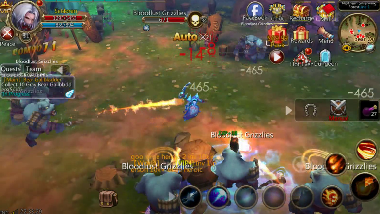 War of Horde combattimento avanzato