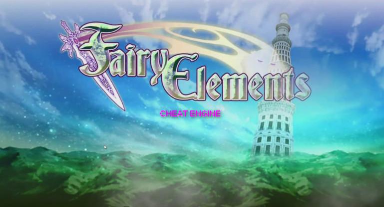 Cheat Engine Fairy Elements