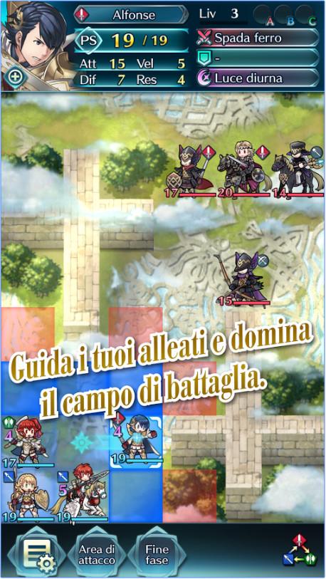 Fire Emblem Heroes campo di battaglia