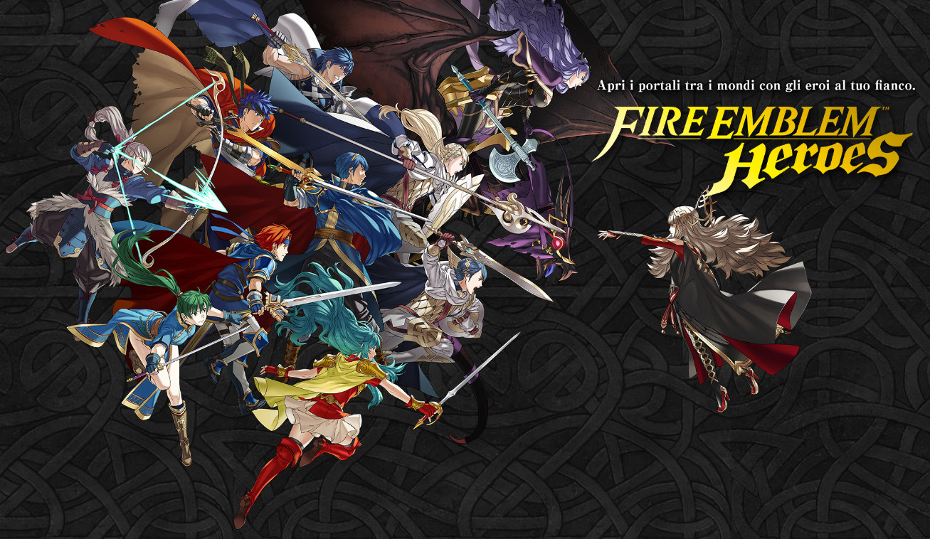 Fire Emblem Heroes Android tactical battle