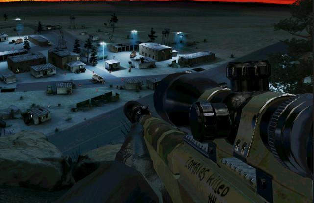 Giochi completi per Android gratuiti - Hitman Sniper - Death Valley zombie