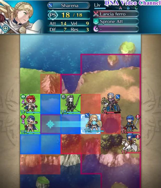 Fire Emblem Heroes - Griglia di battaglia