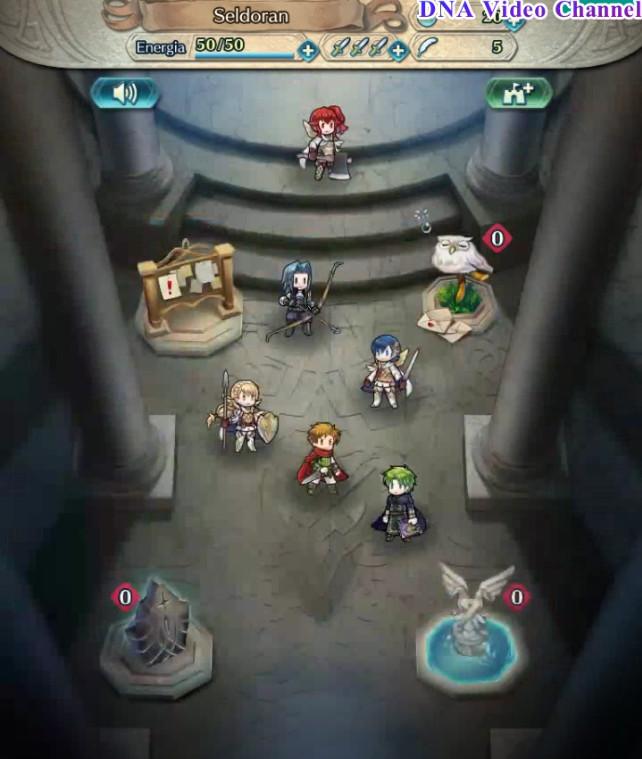 Fire Emblem Heroes - Sala del castello