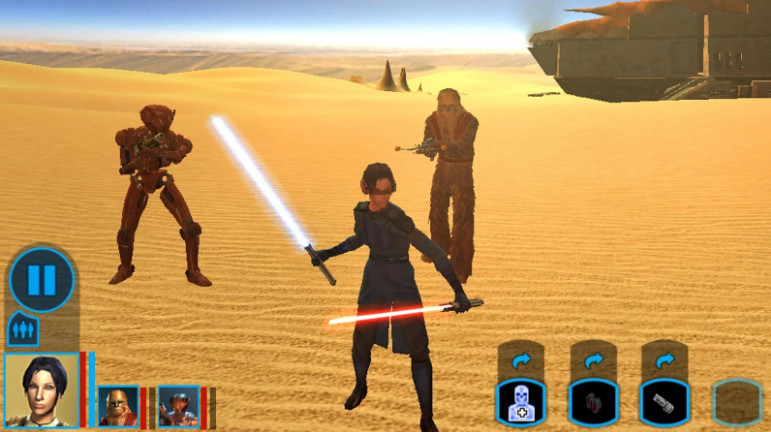 Giochi completi per Android gratuiti - Star Wars: Knights of the old republic
