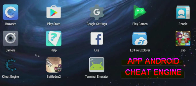 App Cheat Engine per Android