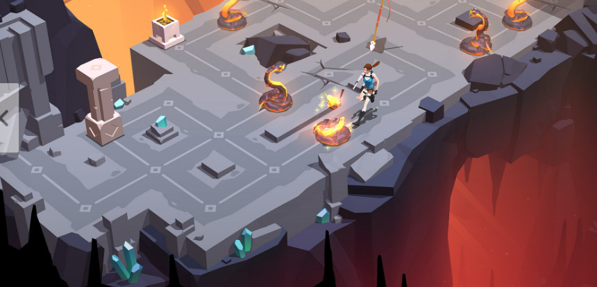Giochi completi per Android gratuiti - Lara Craft Go