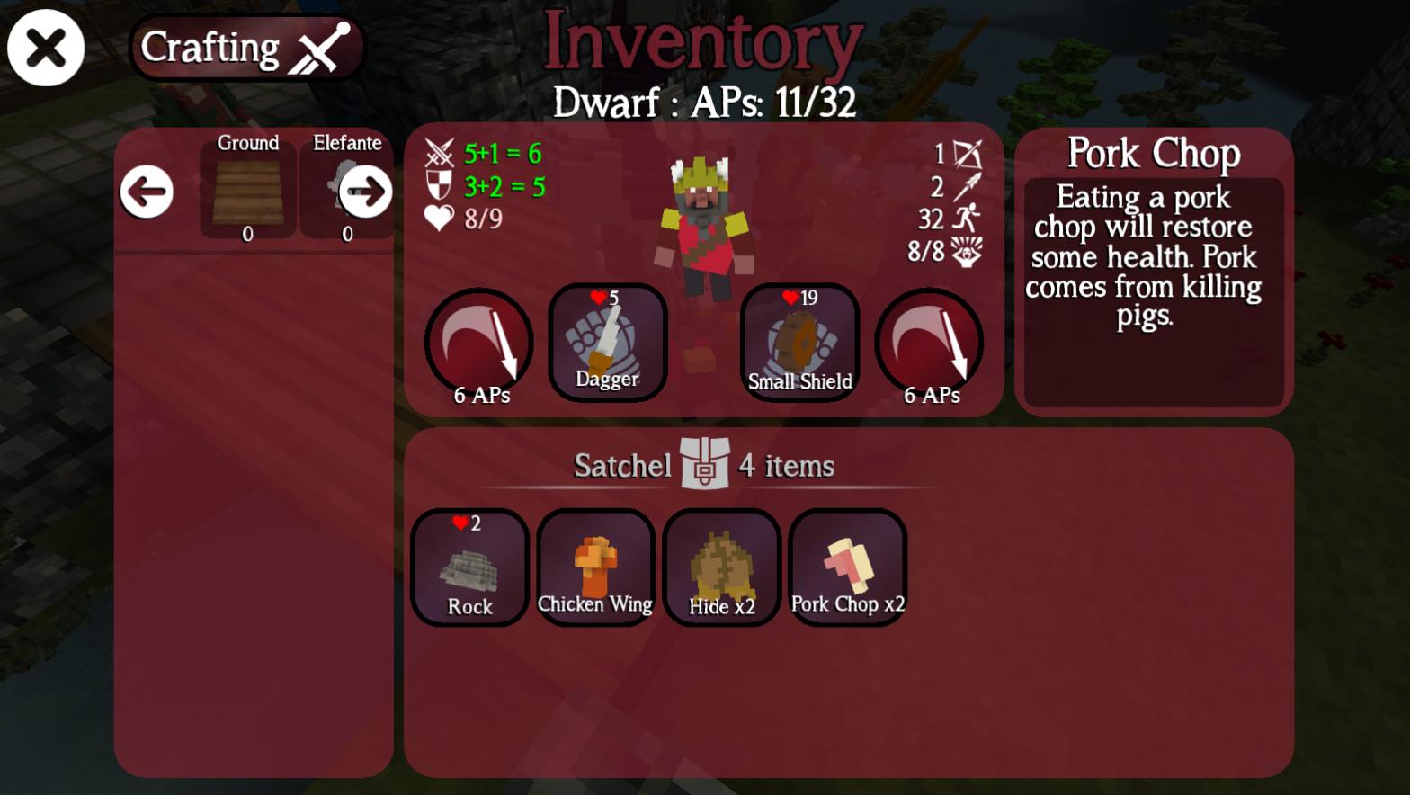 Giochi completi per Android gratuiti - The Last Warlock crafting