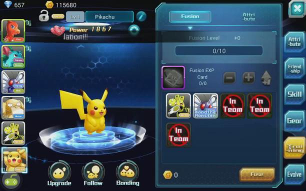 Fantasy Myst aumento per fusione