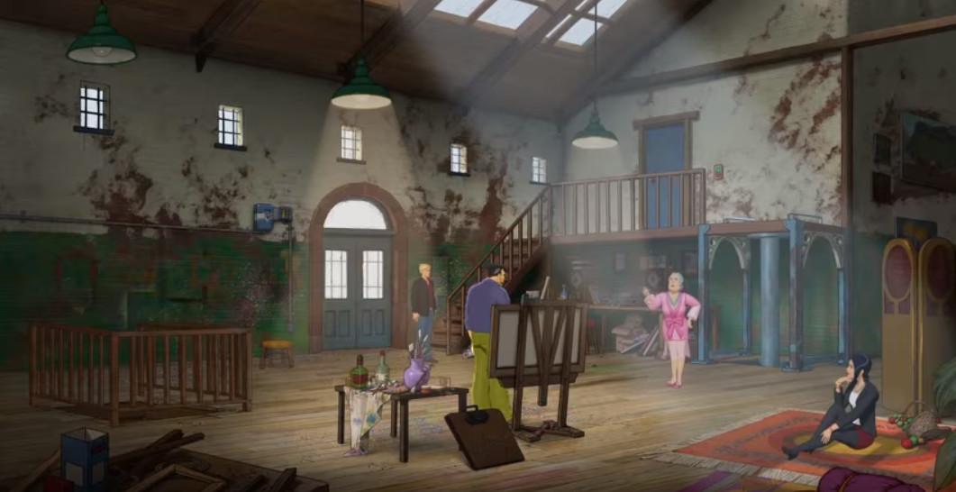 Free full Android games - Broken Sword 5 episode 1 image 2