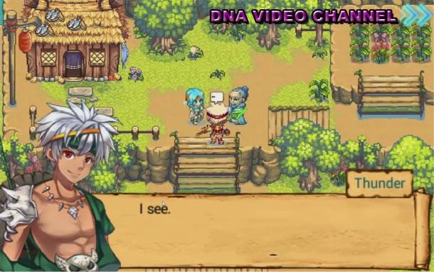 Top Android free RPG offline games - Demon Souls - Personaggio principale Thunder
