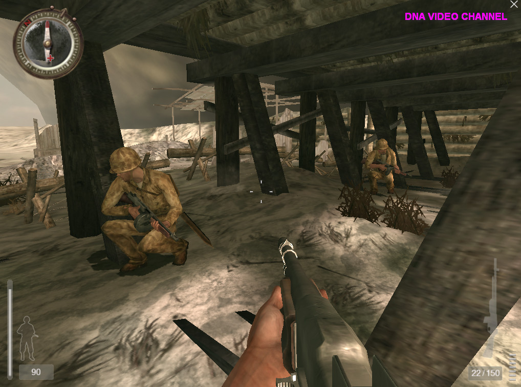 Free PC Games -Medal of Honor™ Pacific Assault combats