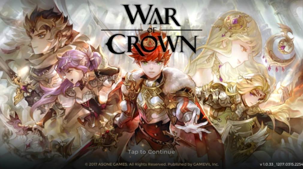 War of Crown Rilascio ufficiale