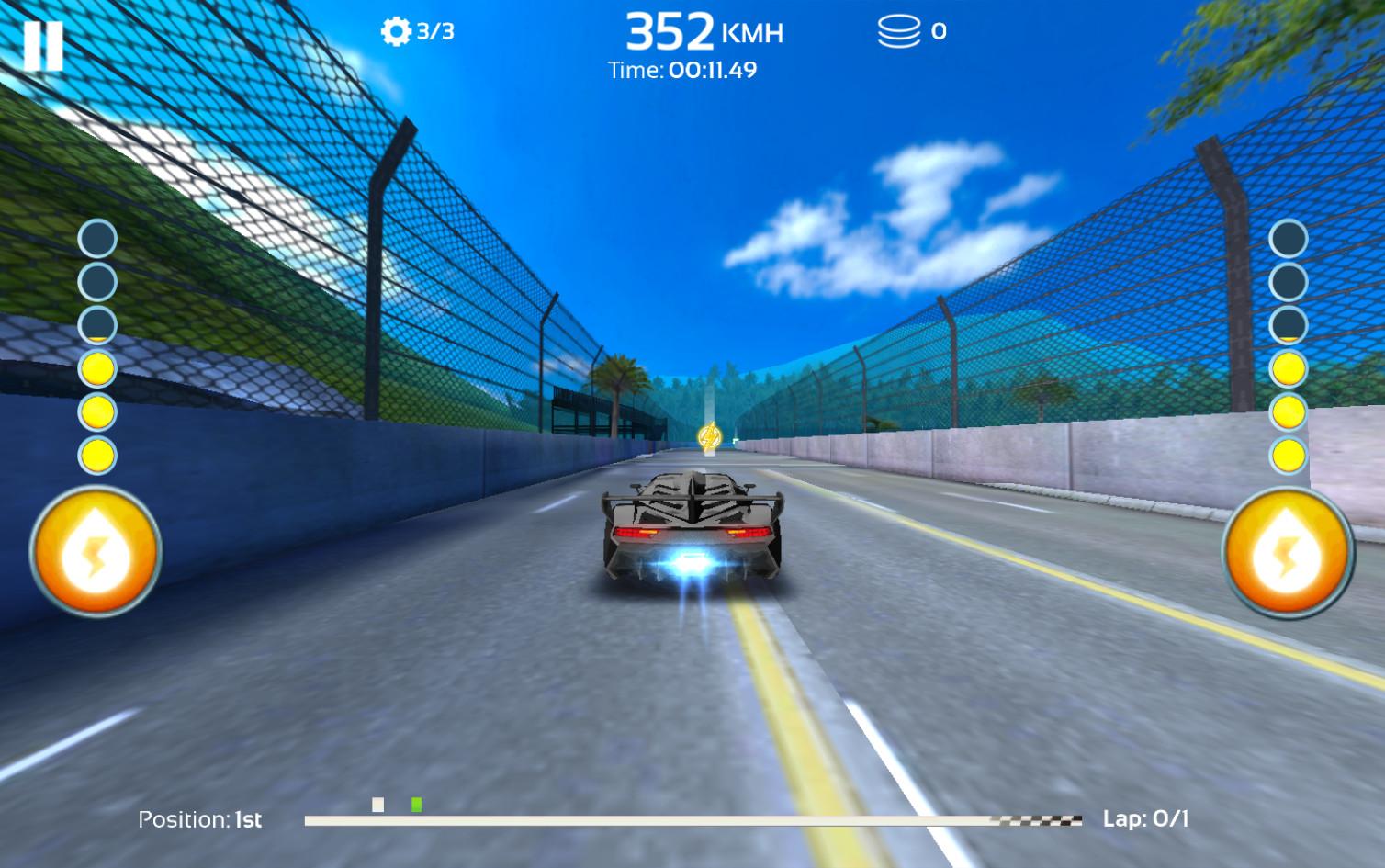 Giochi completi per Android gratuiti - Racing 3D: Extreme Furious Driver in pista