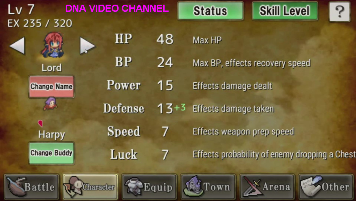 Top Android free RPG offline games - Weapon Throwing RPG 2 Personaggi
