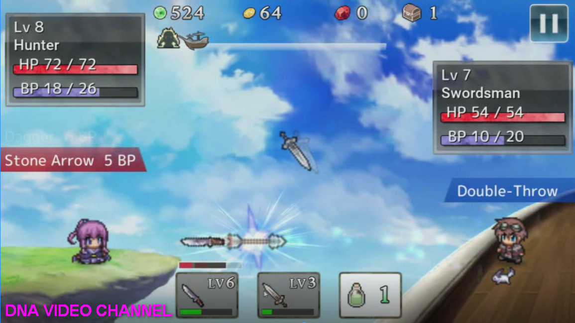 Top Android free RPG offline games - Weapon Throwing RPG 2 Clashes