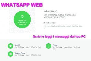 Come accedere a WhatsApp da PC – Whatsapp web – Applicazione online