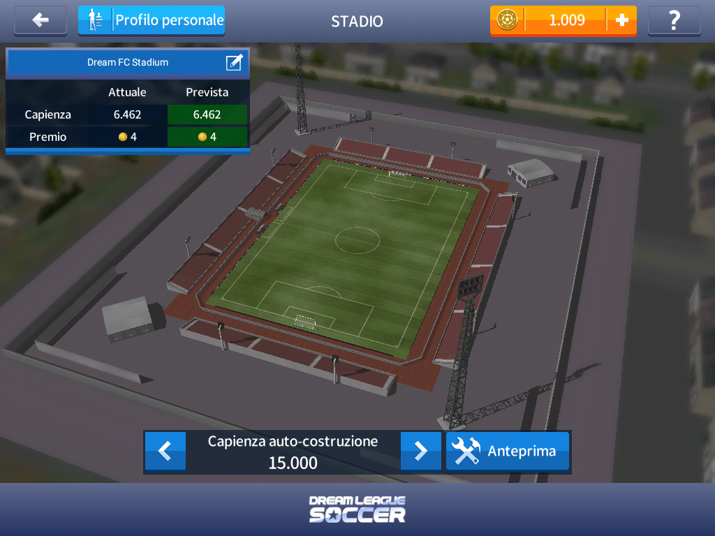 Dream League Soccer 2017 - Stadium