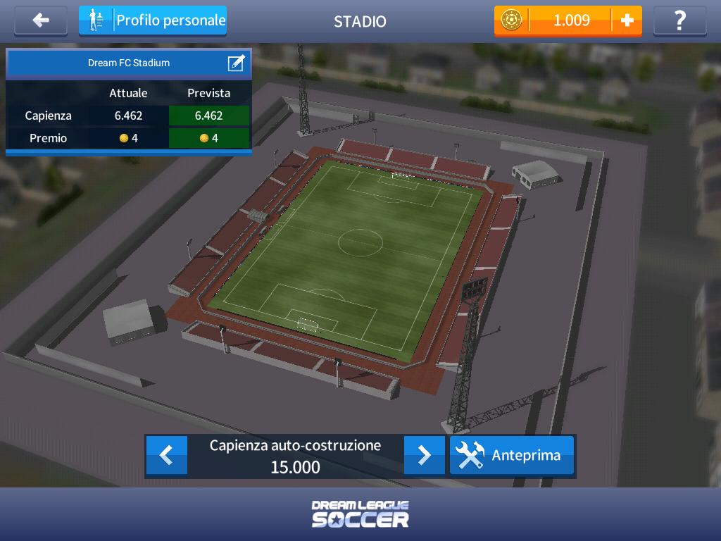 Dream League Soccer 2017 - Stadio