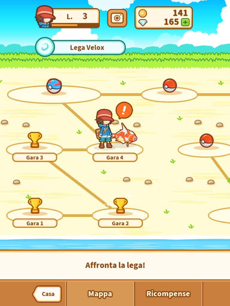 Pokemon Magikarp Jump Lega Velox