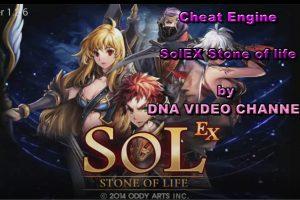Cheat Engine SOLex Stone of life – esperienza, skill e mana infinito – NOX