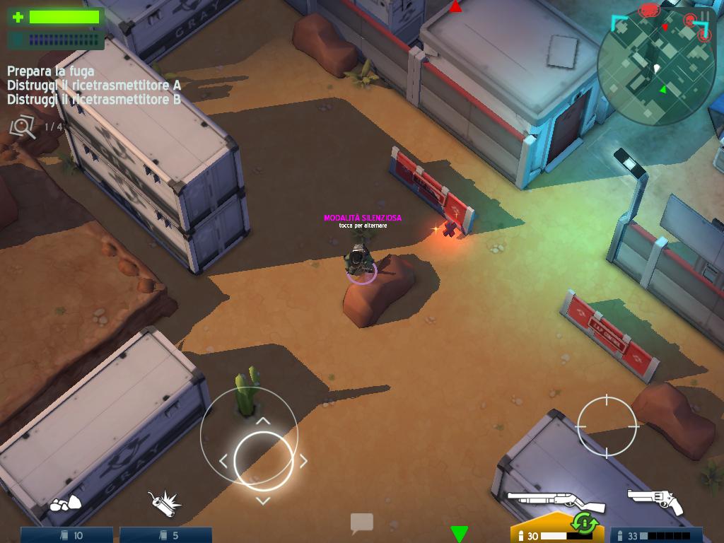 Giochi completi per Android gratuiti - Space Marshals azione