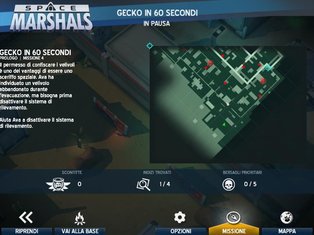 Giochi completi per Android gratuiti - Space Marshals mission
