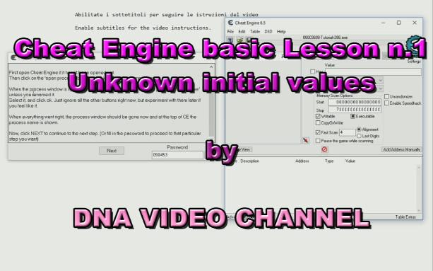 Cheat Engine Tutorial per principianti