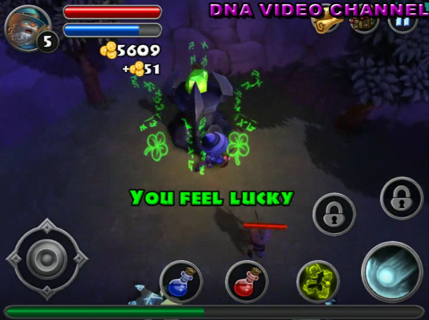 Top Android free RPG offline games - Dungeon Quest Shrine