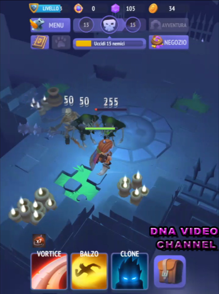 Top Android free RPG offline games - Nonstop Knight combat