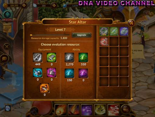 Aggiornamento Guild of Heroes Altare delle stelle