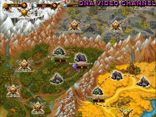 Aggiornamento Guild of Heroes Mappa missioni