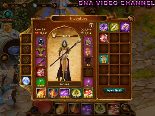 Aggiornamento Guild of Heroes Stelle Equipaggiamento e skills
