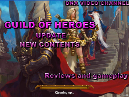 Guild of Heroes Update - New mission and crafting system