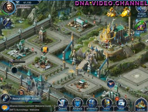 War and Magic Video Gameplay Recensione la citta