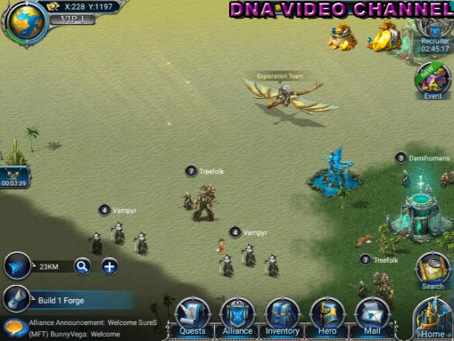 War and Magic Video Gameplay Recensione mappa