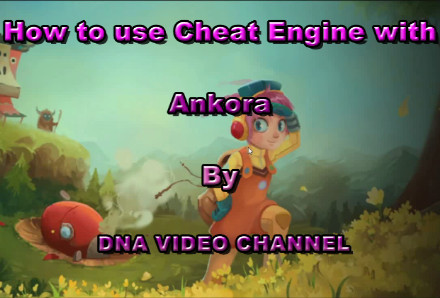 Cheat Engine with Ankora - life and energy points - NOX