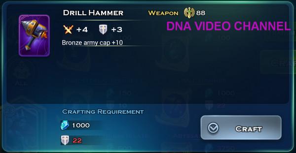 Art Of Conquest Guida Aumento Cap Truppe Drill Hammer