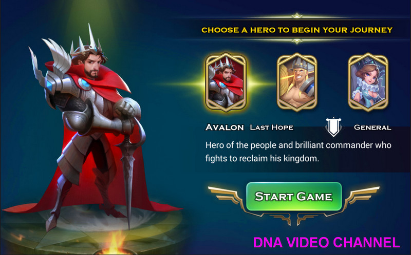 Art Of Conquest Guide Initial Hero Choice