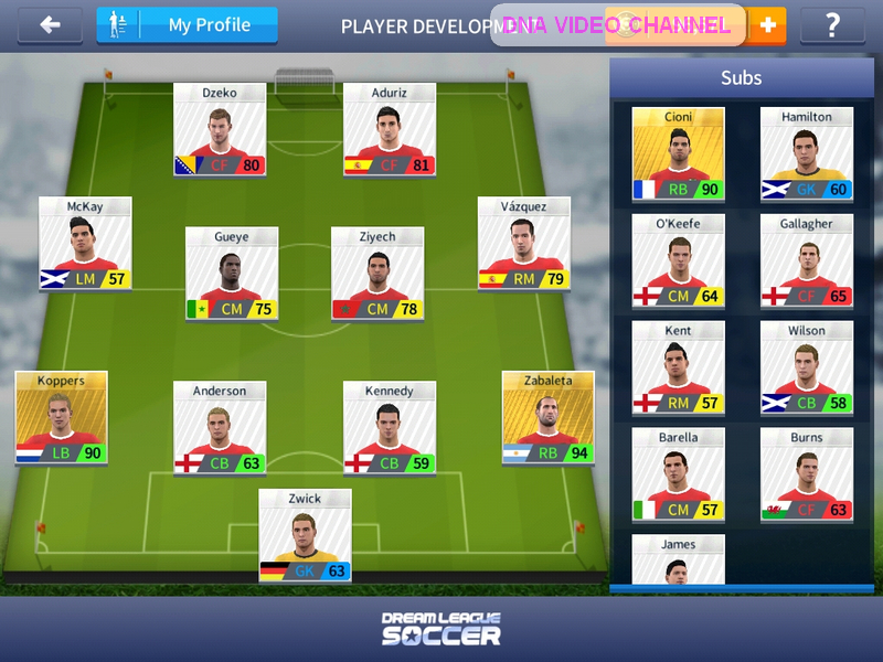 Dream League Soccer 2017 Guide - player development